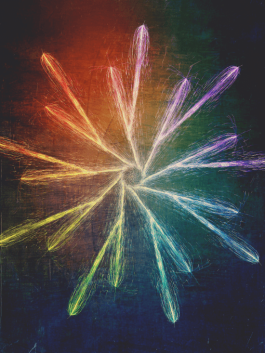 Artwork, titled Baby, You're a Firework